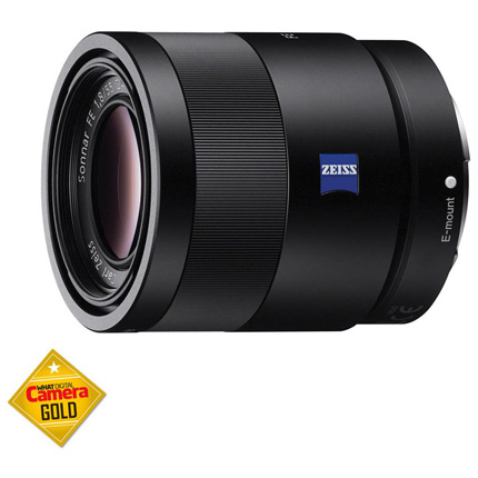 Sony FE 55mm f/1.8 ZA Zeiss Sonnar T* Lens