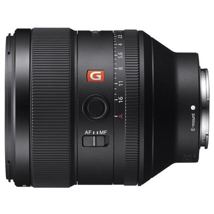 Sony FE 85mm f/1.4 GM Prime Lens Video 02