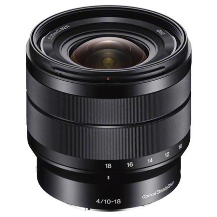 Sony E 10-18mm f/4 OSS Ultra Wide Angle Zoom Lens