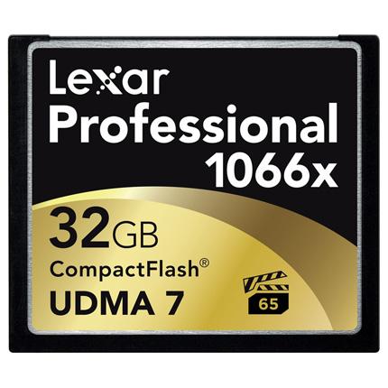 Lexar 32GB CF 1066x Pro 160MB/s UDMA-7