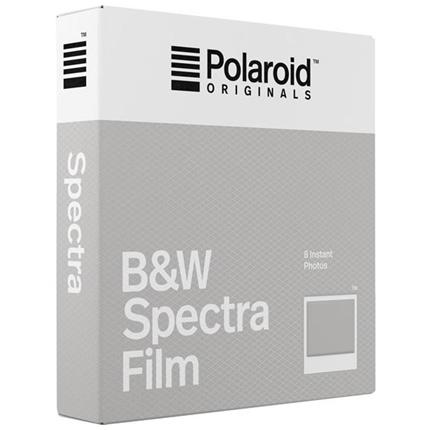 Polaroid Originals Image/Spectra B&W Film (8 Sheets)