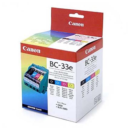 Canon BC33 Colour Head & Tanks