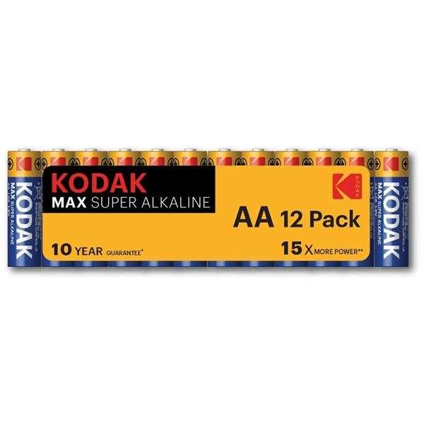 Kodak Max AA Batteries (12 Pack)