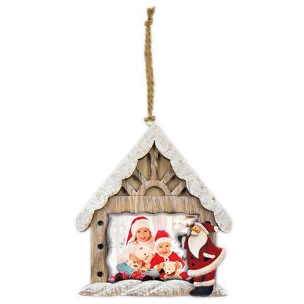 Swains Hanging Santa Grotto 7.5x5 cm