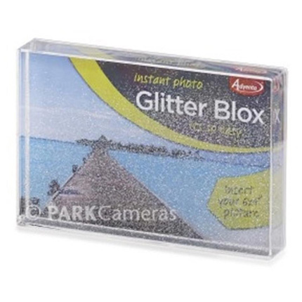 Adventa Glitter Box Photo Frame - 6 x 4