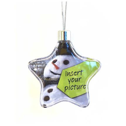 Adventa Christmas Photo Frame Star Ornament