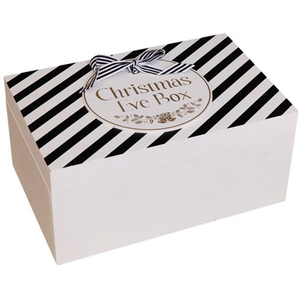 Swains Christmas Eve Box Black & Gold