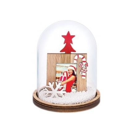 Adventa Christmas Snow Dome Passport