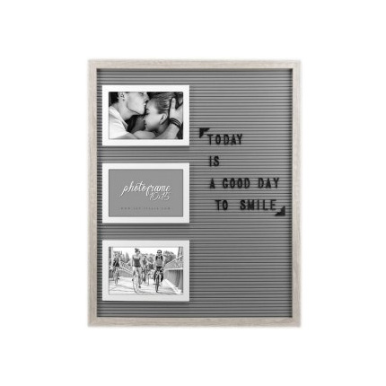 Adventa Photo Frame with Alphabet Letters 6x4