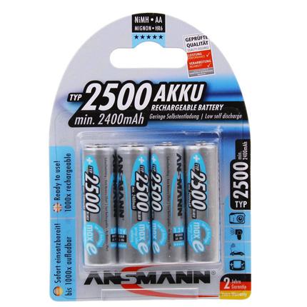 Ansmann MAXe 4 x AA 2500mAh