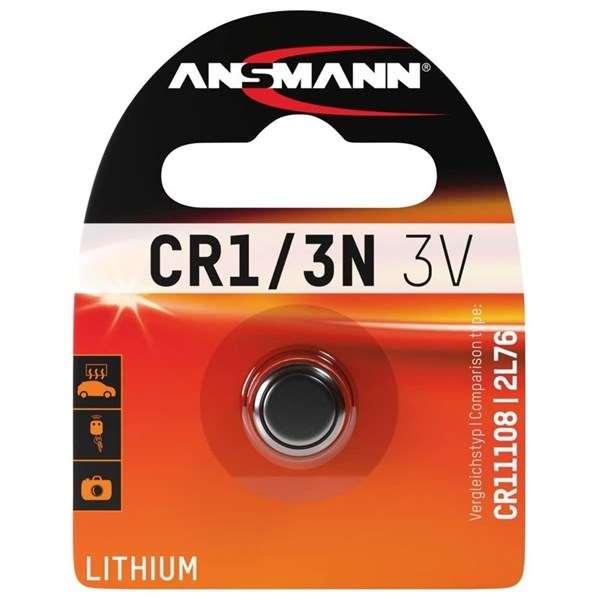 Ansmann CR 1/3N - Lithium 3V pack of 1