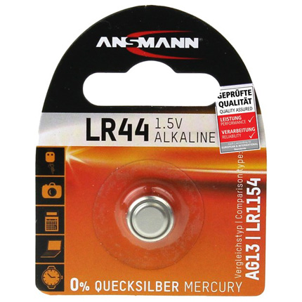 Ansmann LR44 1.5V Alkaline