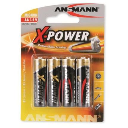 Ansmann X-Power 4xAA Batteries