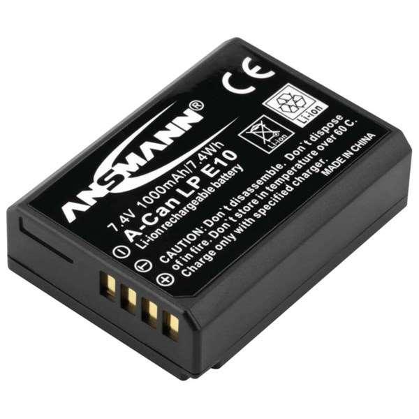 Ansmann Li-Ion Canon LP-E10 for 1100D