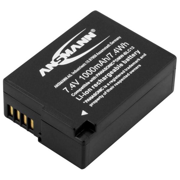 Ansmann Li-Ion Panasonic DMW BLC 12