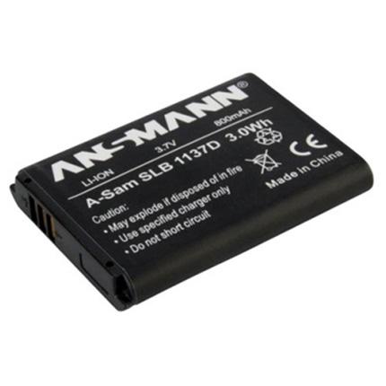 Ansmann Li-Ion Samsung SLB1137D Battery