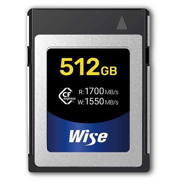 Wise Advanced 512GB CFexpress Memory Card