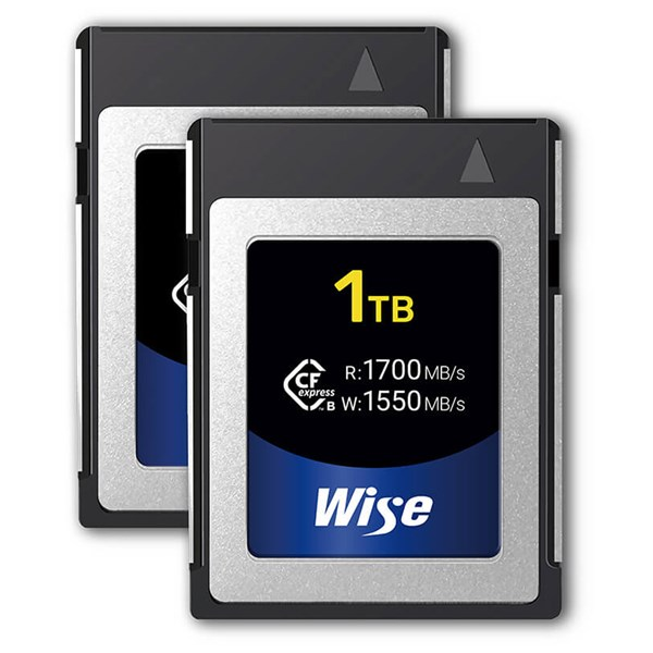 Wise Advanced 1TB CFexpress Twin Pack