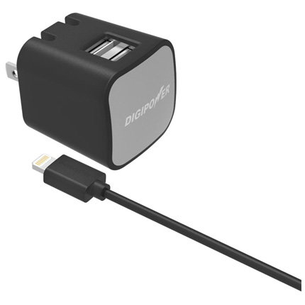 Digipower 2.4AMP Dual Wall Charger + LC