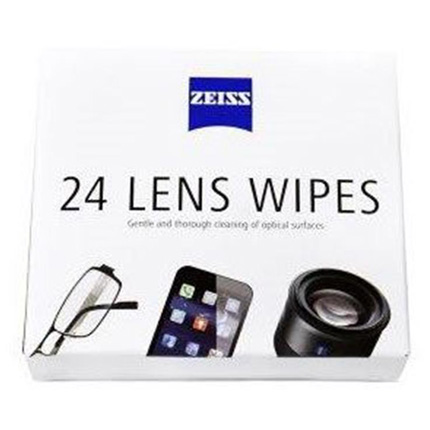 ZEISS Lens Cleaning Wipes + Microfibre Cloth