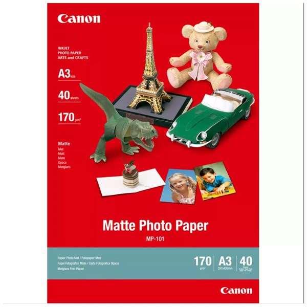 Canon MP-101 (A3) Matte Photo Paper (50 Sheets)