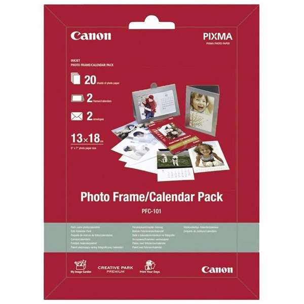 Canon PFC-101 Photo Frame/Calendar Pack