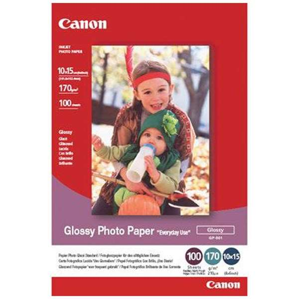 Canon GP-501 4x6 (10 x15cm) Glossy Photo Paper (10 Sheets)