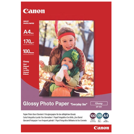 Canon GP 501 A4 Glossy Paper 100 Sheets