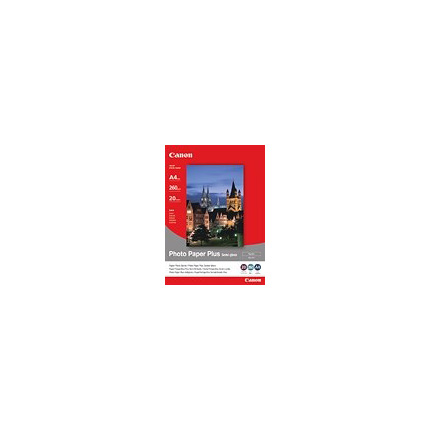 Canon SG-201 A4 Semi-Gloss Photo Paper 20 Sheets