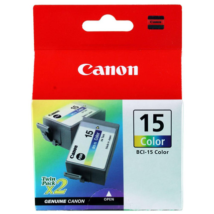 Canon BCI 15 Colour Cartridge for i70/i80 and i90 printer