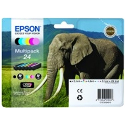 Epson Elephant 24XL Multipack T2438
