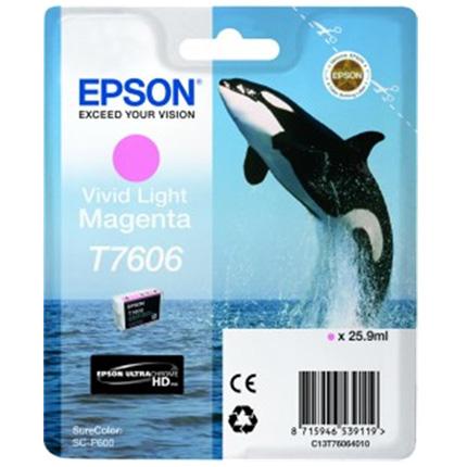 Epson Whale T7606 Vivid Light Magenta