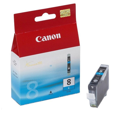 Canon CLI-8C Cyan Colour Ink