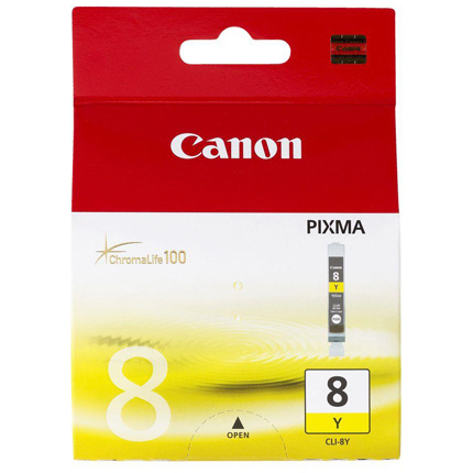 Canon CLI-8Y Yellow Colour Ink