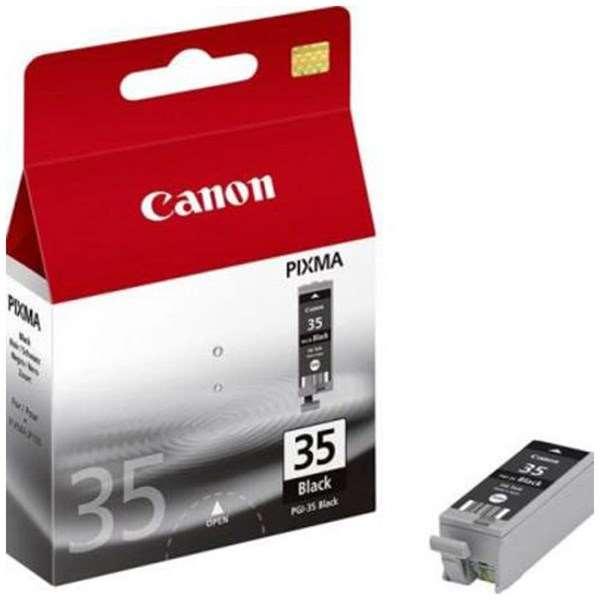 Canon PGI-35BK (Yield: 191 Pages) Black Ink Cartridge