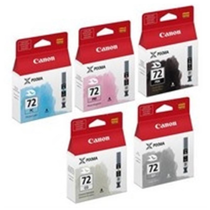 Canon PGI-72 PBK/GY/PM/PC/CO Multipack Ink