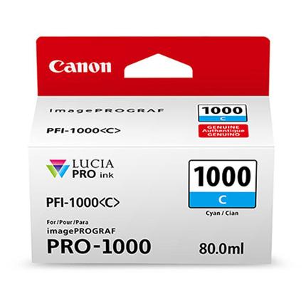 Canon PFI-1000 Cyan Ink Cartridge