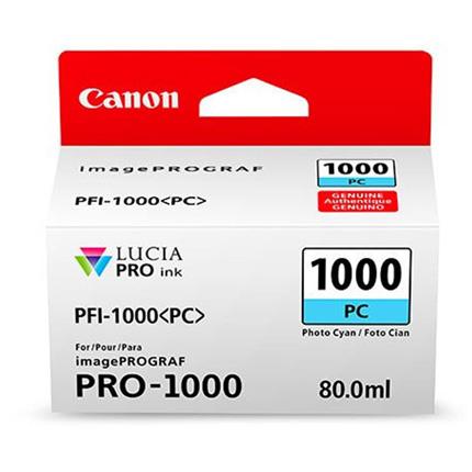 Canon PFI-1000 Photo Cyan Ink Cartridge