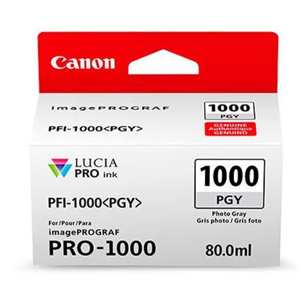 Canon PFI-1000 Grey Ink Cartridge