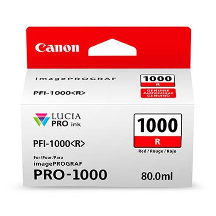 Canon PFI-1000 Red Ink Cartridge