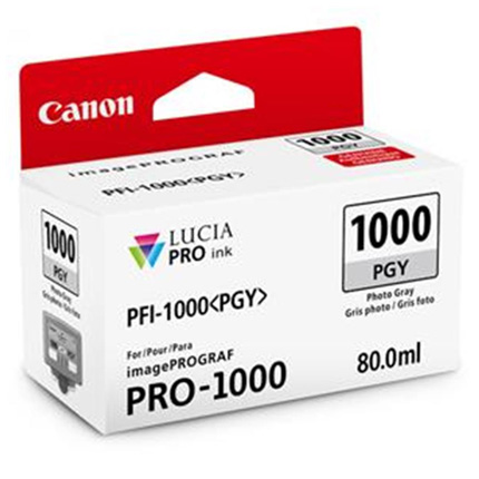 Canon PFI-1000 Photo Grey Ink Cartridge