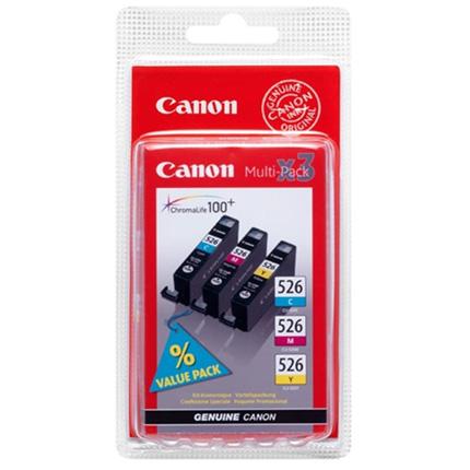Canon CLI-526 C/Y/M Multipack