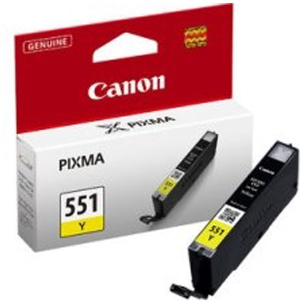 Canon CLI-551 Yellow 7ml Ink Tank