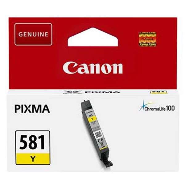 Canon CLI-581 Yellow Ink Cartridge - Pixma TS8150,TR8550,TS6150,TS9150,TS9155,TS6151