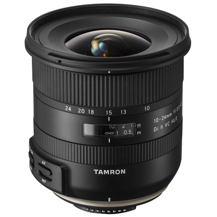 Tamron 10-24mm f/3.5-4.5 Di II VC HLD Lens Nikon F