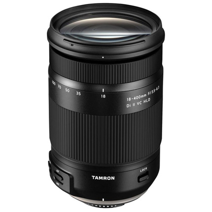 Tamron 18-400mm f/3.5-6.3 Di II VC HLD Lens Canon EF