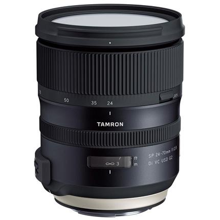 Tamron SP 24-70mm f/2.8 Di VC USD G2 Lens Canon EF