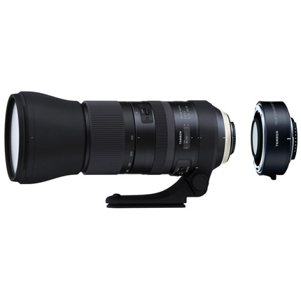 Tamron SP 150-600mm Di VC USD G2 Lens With 1.4x Teleconverter Nikon