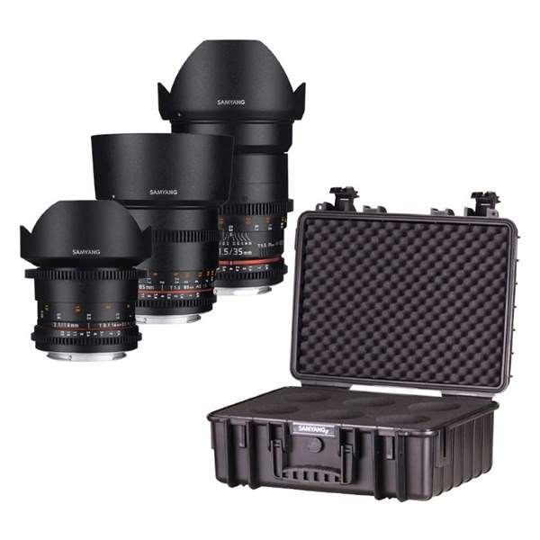 Samyang VDSLR Lens Kit 2 For Canon