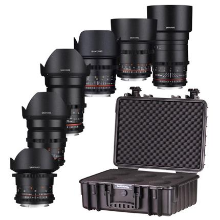 Samyang VDSLR 6 Lens Kit For Canon